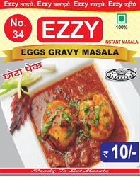 Ezzy Egg Gravy Masala (Small Packets), Packaging : 20 Gram