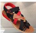 Drips Footwear Black/red Men Sandal, Size: 6-10