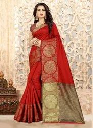Casual Wear Linen Silk Sarees