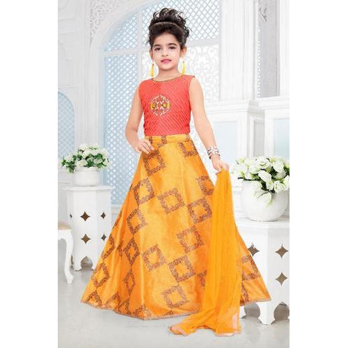 1c9a6a6354 Party Wear Kids Trendy Gown, Packaging Type: Box, Rs 1335 /piece ...