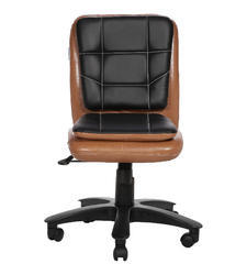 Copper And Black Librarian LB Workstation Chair