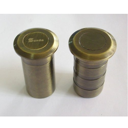 Stainless Steel Gold Plated Dust Proof Socket