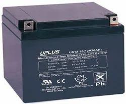 Uplus 12 V / 26 Ah SMF Battery, Warranty: 1 year