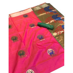 Ladies Kanjivaram Silk Saree