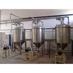 Stainless Steel Tank Weighing System