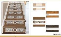 Vitrified Step & Riser Tiles