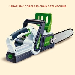 Battery Chain Saw Machine