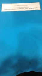 100% Cotton Knitted Single Jersey Dyed Fabric-180GSM Tube.