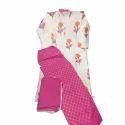 Floral Print Cotton Palazzo Suit