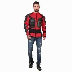 Red Black Full Sleeve Bike Jacket