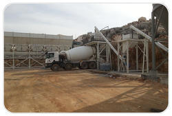 Full Automatic Dry Mix Concrete Batch Plant