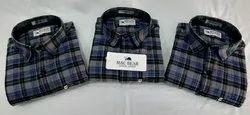 Formal Wear Mac Bear Check Shirt