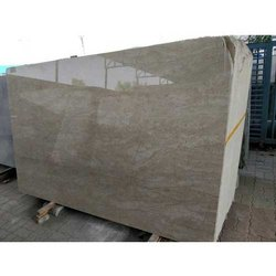 Classic Beige Imported Marble Tile, Thickness: 15-20 mm