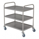 3 Shelf SS Trolley