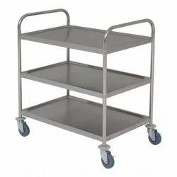 3 Shelf SS Trolley