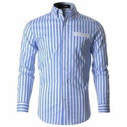 Zebra Men's Striped Shirt