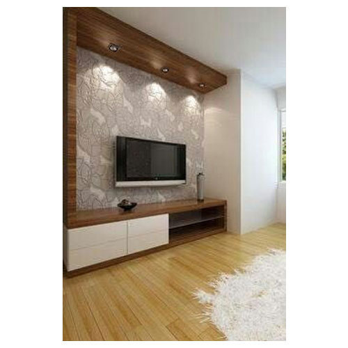 Wooden Wall Units For Living Room: Wooden TV Wall Unit, Rs 1000 /square Feet, Royal Interior