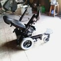 Powered Foldable Back Rest Wheelchair