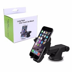 Long Neck-One Touch Car Mount Mobile Holder