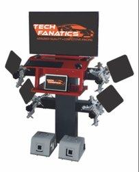 Portable 3 D Wheel Alignment Machine