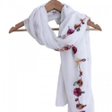 Machine Embroidery Scarves