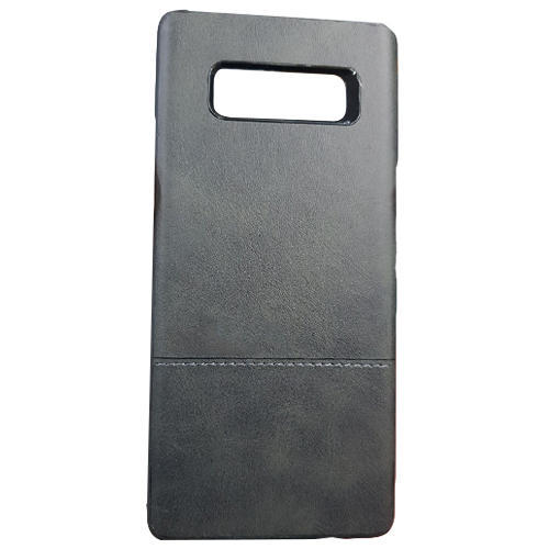 PU And Leather Mobile Back Case