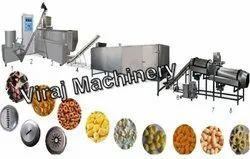 Puff Snacks Automatic Corn Snack Making Machine