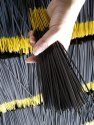 Black Raw Incense Stick  ( Pure Joss )