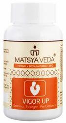 Matsyaveda Herbals Energy Capsules, 60, Packaging Type: Bottle