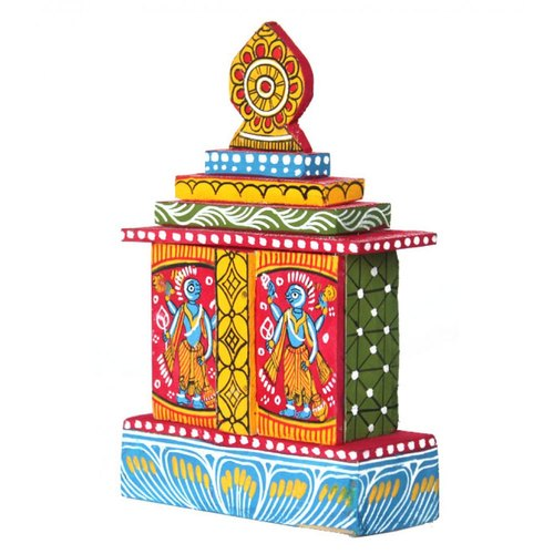 Temple Texas Traditional Home: Traditional Wooden Handmade Poori Jeganath Temple, For