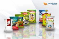 Printed Laminated Material Food Packaging Bag, Capacity: 1 and 2kg