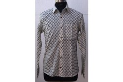 Block Print Shirt Cotton Fabric Soft Shirt