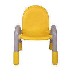 The Chico Engineering Plastic Kids Chair Yellow (VJ-0221)
