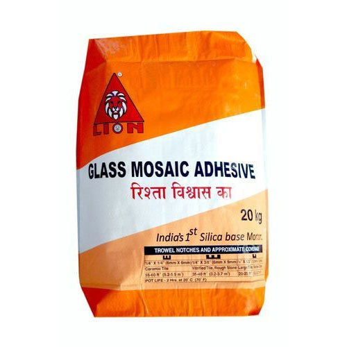 Lion Glass Mosaic Adhesive, Pack Type: Bag