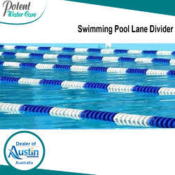 Plastic Swimming Pool Lane Divider, Length 25 & 50 m