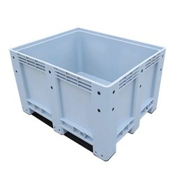 Plastic Blue Pallet Crates, For Storage And Material Handling, Capacity: 150 L