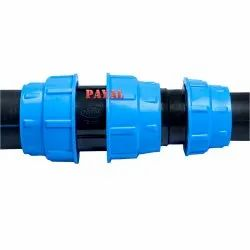 Plastic Male Easy HDPE Compression Fittings, Plumbing, Packaging Type: Cartoons