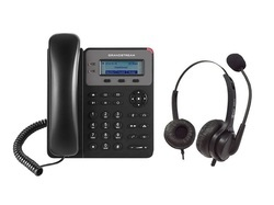 Grandstream IP Phone With ARIA 11N Headset