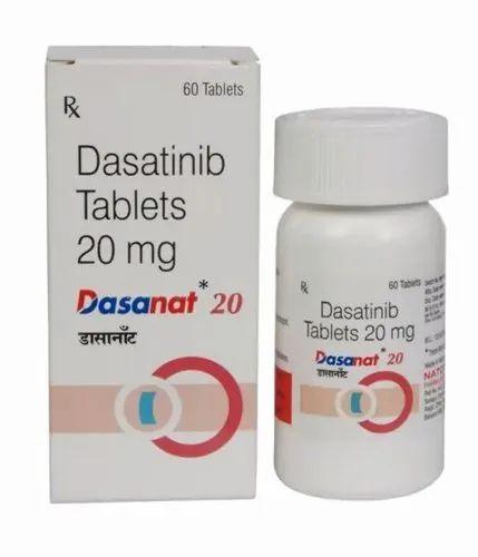 Dasanat 20mg Tablets ( Dasatinib 20mg tablets - Natco Pharma)