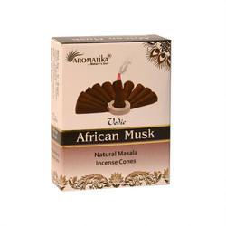 African Musks Masala Incense Cone