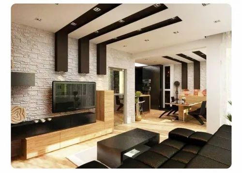 Pop And False Ceiling False Ceiling With Wooden Rapter Manufacturer From Chennai
