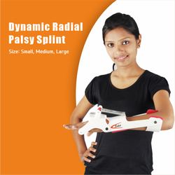 Dynamic Radial Palsy Splint With Finger Attachment