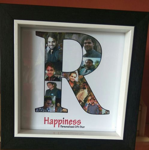 Black Personalized Name Wooden Photo Frame Rs 500 Unit Id