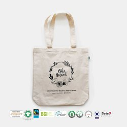 Fair Trade Organic Cotton Grocery Bag