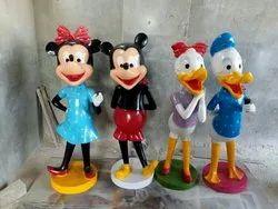Fiber Disney Character Statue