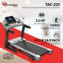 TAC-225 2HP AC Motorized Treadmill With Autoincline And Mp3