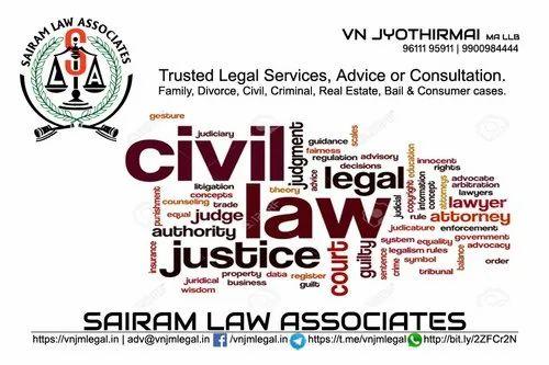 Civil Lawyer, More than 5 Years, Bangalore