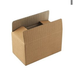 Upto 52 Inches Rectangular Brown Packaging Box