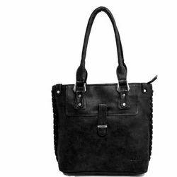 Ozo PU Black Shoulder Bag