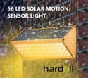 Hardoll 56 Warm White LED Solar Lights